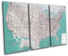 USA American Atlas Maps Flags - 13-1778(00B)-TR32-LO